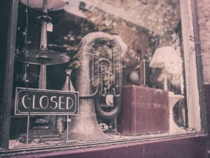 Closed Business with Tuba