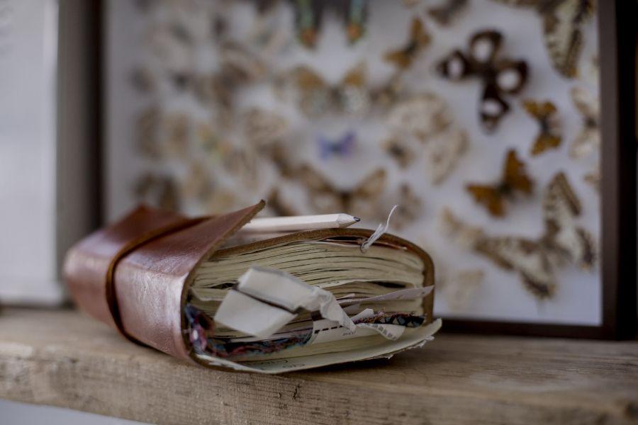 Over-stuffed notebook